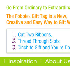 Fobbie Gift Wrapping in a Cinch